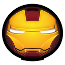 128x128px size png icon of Iron Man Mark III 01