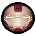 128x128px size png icon of Iron Man Mark VI 01