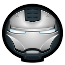 128x128px size png icon of Iron Man War Machine 01