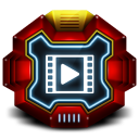 128x128px size png icon of Folder Video