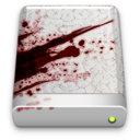 128x128px size png icon of The Blood Splattered Drive