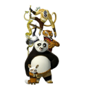128x128px size png icon of Po 4