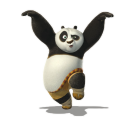 128x128px size png icon of Po