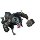 128x128px size png icon of Wolf Boss