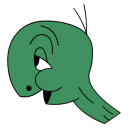 128x128px size png icon of Cecil Turtle no shell