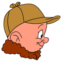 128x128px size png icon of Elmer Fudd Hunting