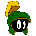 128x128px size png icon of Marvin Martian