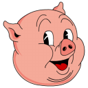 128x128px size png icon of Old Porky color