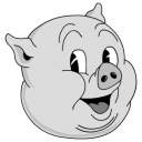 128x128px size png icon of Old Porky
