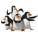 128x128px size png icon of Penguins