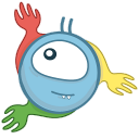 128x128px size png icon of monster chrome