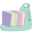 128x128px size png icon of monster folder