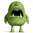 128x128px size png icon of Monsters 4