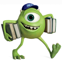 128x128px size png icon of Monsters Character Young Mikes