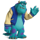 128x128px size png icon of Monsters James P Sullivan