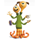 128x128px size png icon of Monsters Terry