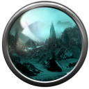 128x128px size png icon of landing lost city