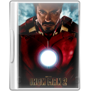 128x128px size png icon of ironman 2