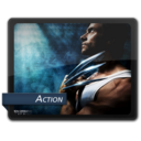 128x128px size png icon of Action 2