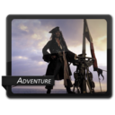 128x128px size png icon of Adventure 4