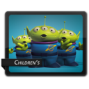 128x128px size png icon of Children