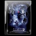 128x128px size png icon of aliens vs predator 2