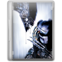 128x128px size png icon of aliens vs predator