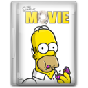 128x128px size png icon of Simpsons Movie