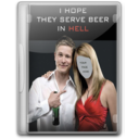 128x128px size png icon of I hope beer in hell