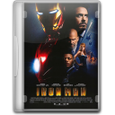 128x128px size png icon of Iron Man movie