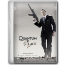 128x128px size png icon of 007 Quantum of Solace