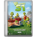 128x128px size png icon of Planet 51