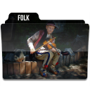128x128px size png icon of Folk 2