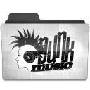 128x128px size png icon of Punk 1