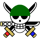 128x128px size png icon of Zoro