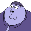 Peter Griffin Blueberry zoomed 2 Icon