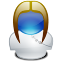 128x128px size png icon of Colette