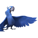 128x128px size png icon of Rio2 Blu 2
