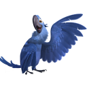 128x128px size png icon of Rio2 Blu 3
