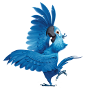 128x128px size png icon of Rio2 Blu 4