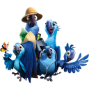 128x128px size png icon of Rio2 Family