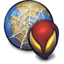 128x128px size png icon of CIVIL WAR Spiderman Browser