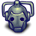 128x128px size png icon of CYBERMAN!!