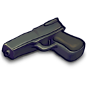 128x128px size png icon of DecentGun