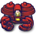 128x128px size png icon of HULK BUSTA!!