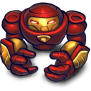 128x128px size png icon of HULKBUSTA2