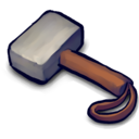128x128px size png icon of Hammer