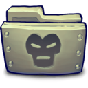 128x128px size png icon of IRON IRONFOLDER