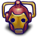 128x128px size png icon of IRONCYBERMAN!!