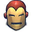 128x128px size png icon of IRONMAN